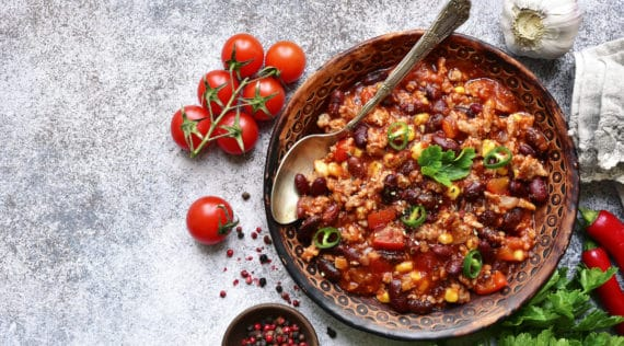 Low Carb Chili con Carne mit dem Thermomix® –Foto: gettyimages / Lilechka75