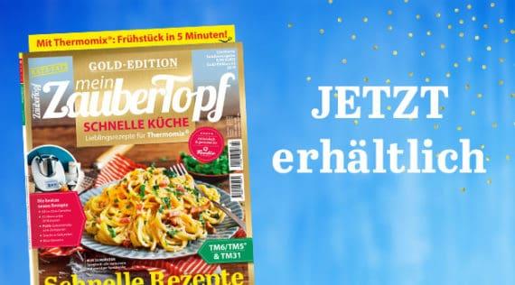 mein ZauberTopf Gold Edition E-Book schnelle Küche