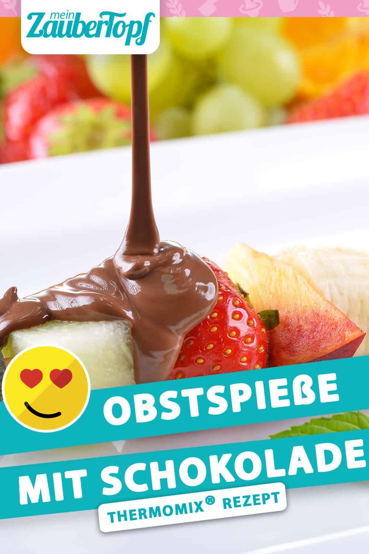 Obstspieße mit Schokolade aus dem Thermomix® - Foto: kabVisio/gettyimages.de