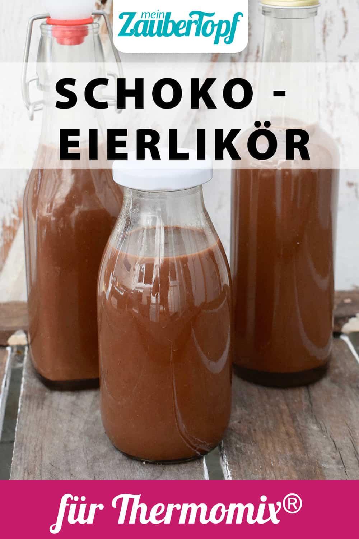 Schoko-Eierlikör aus dem Thermomix® – Foto: Nicole Stroschein