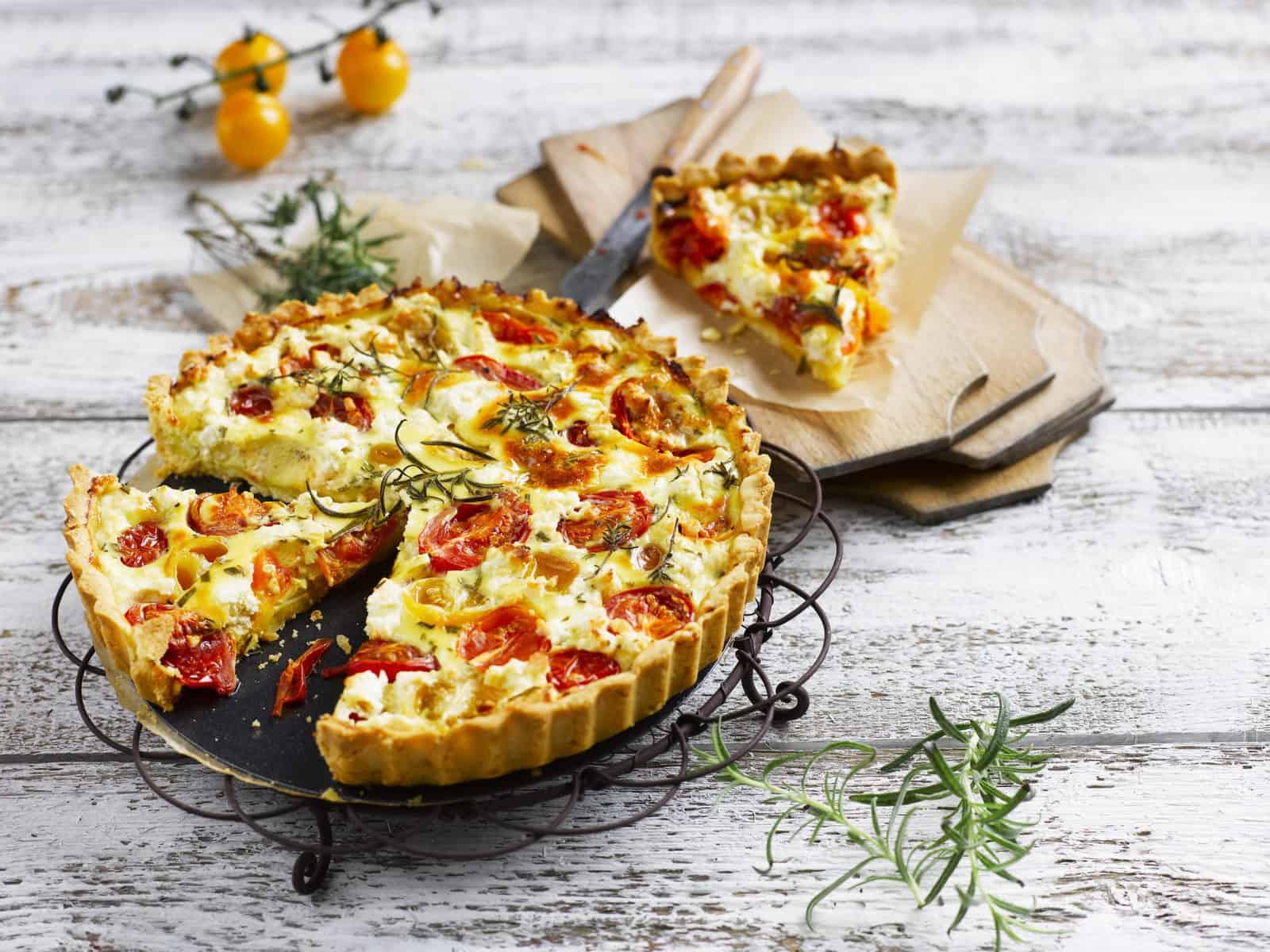 Bunter Tomatenkuchen mit dem Thermomix® –Foto: Frauke Antholz