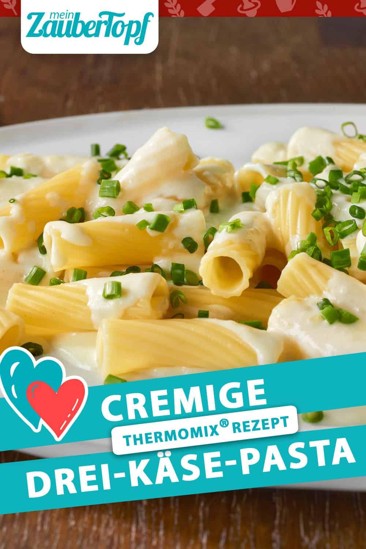 Drei-Käse-Pasta aus dem Thermomix® –Foto: Matthias Haupt