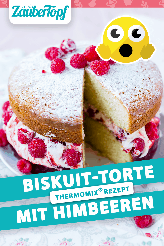 Biskuit-Torte mit dem Thermomix® –Foto: Sophia Handschuh