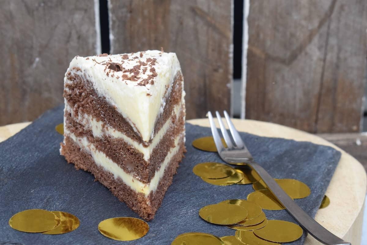 Die Torte im Anschnitt –Foto: Nicole Stroschein