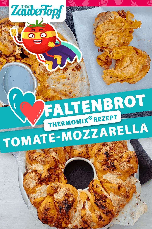 Faltenbrot Tomate-Mozzarella mit dem Thermomix® –Foto: Nicole Stroschein