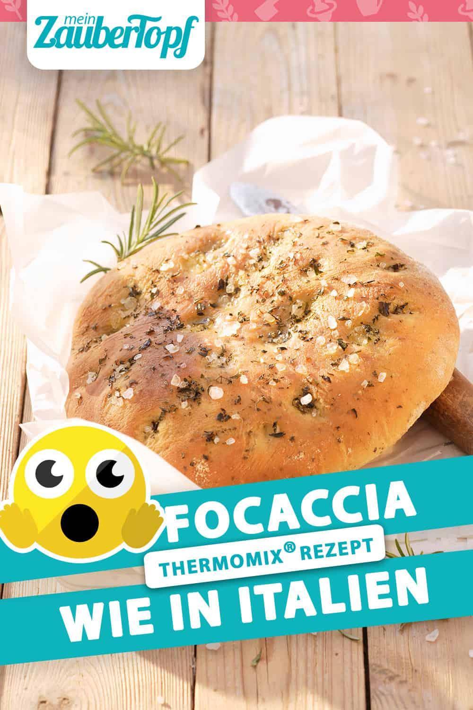 Focaccia wie in Italien aus dem Thermomix® – Foto: Stockfood / Matthias Hoffmann