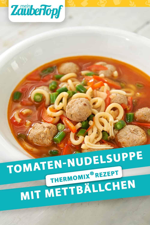 Tomaten-Nudelsuppe mit dem Thermomix® –Foto: Gruner & Jahr