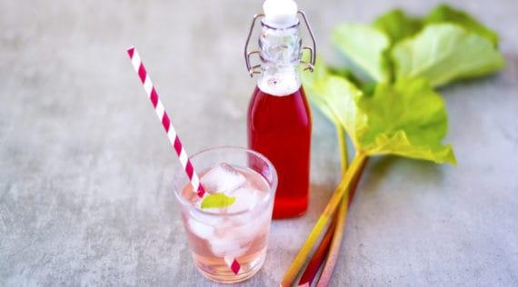 Rhabarber Sirup mit dem Thermomix® als Drink – Foto: gettyimages.de/KariHoglund