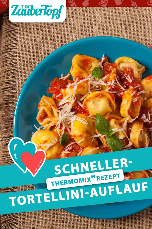 Schneller Tortellini-Auflauf mit dem Thermomix® - Foto: Gettyimages/gkrphoto