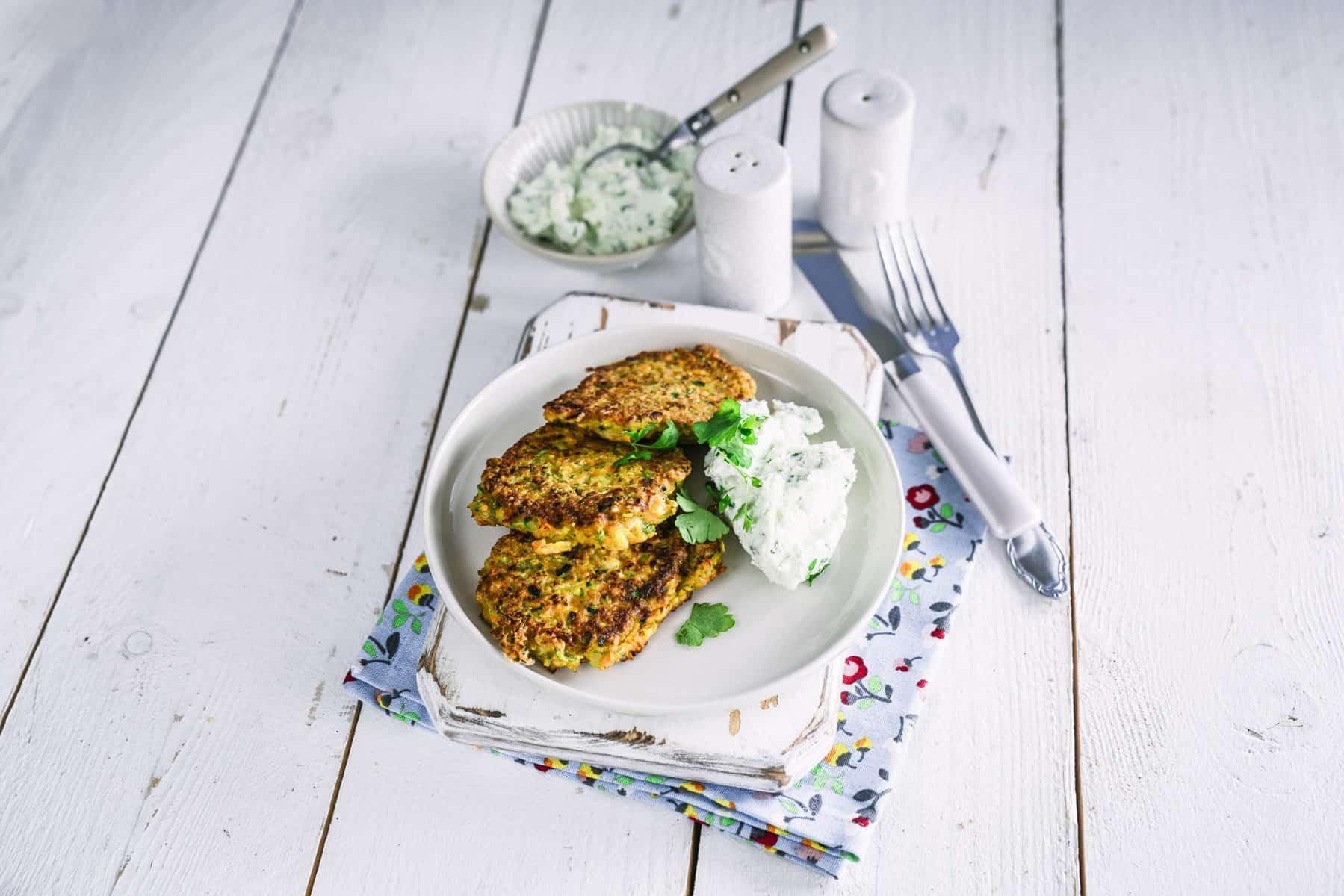 Zucchini-Karotten-Puffer mit dem Thermomix® – Foto: Tina Bumann