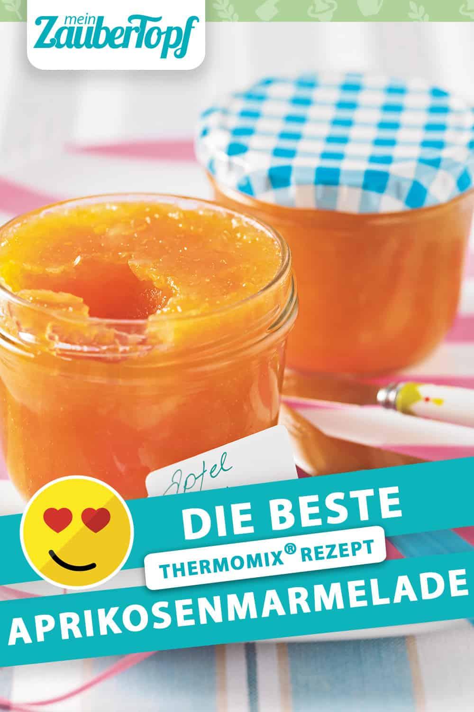 Aprikosenmarmelade aus dem Thermomix® –Foto: Jorma Gottwald