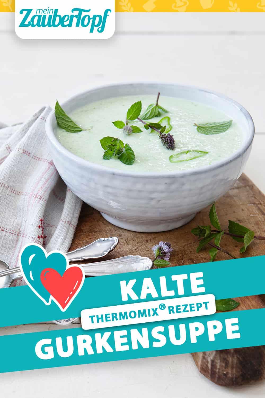 Kalte Gurkensuppe aus dem Thermomix® - Foto: Frauke Antholz