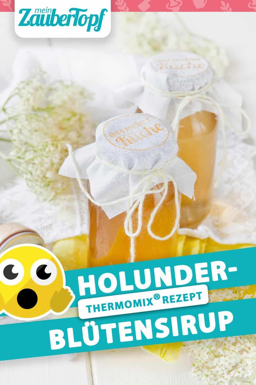 Holunderblütensirup mit dem Thermomix® – Foto: Frauke Antholz