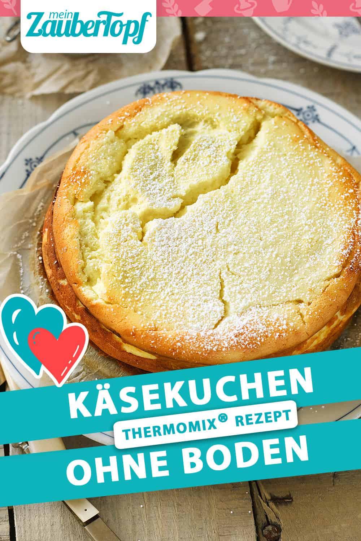 Käsekuchen ohne Boden mit dem Thermomix® – Foto: Frauke Antholz