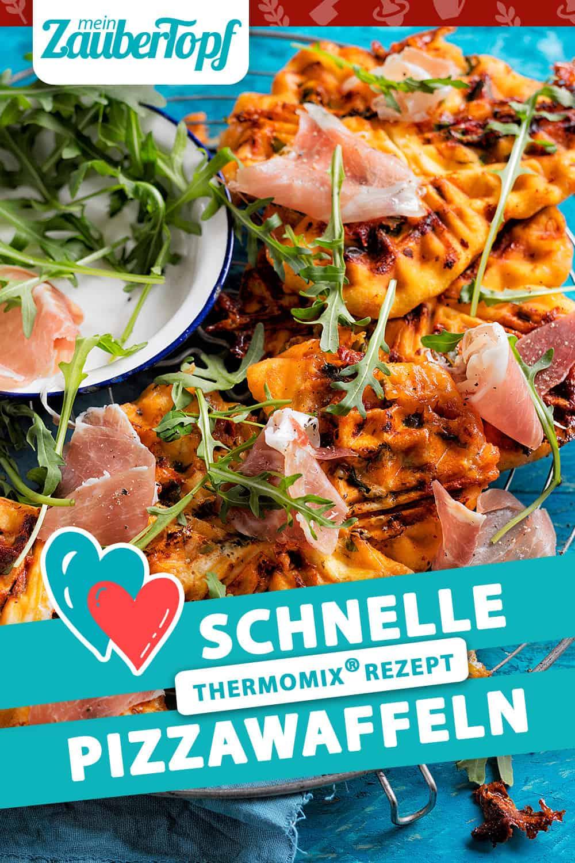 Schnelle Pizzawaffeln mit dem Thermomix® - Foto: Frauke Anholz