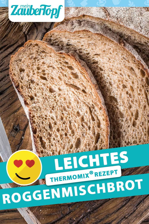 Leichtes Roggenmischbrot mit dem Thermomix® – Foto: Gettyimages/ValentynVolkov