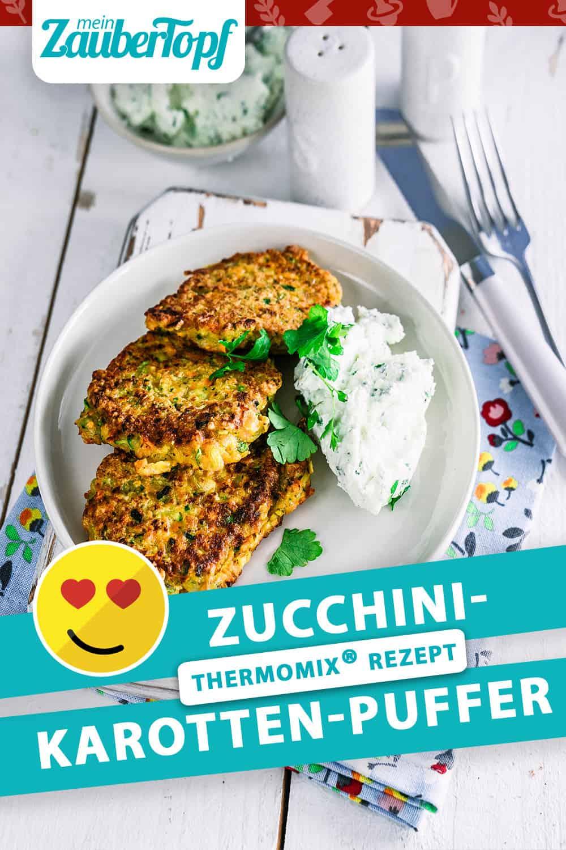 Zucchini-Karotten-Puffer mit dem Thermomix® - Foto: Tina Bumann