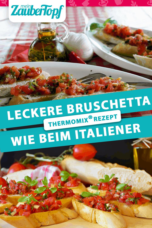 Bruschetta wie beim Italiener mit dem Thermomix® – Foto: Pixabay / RitaE