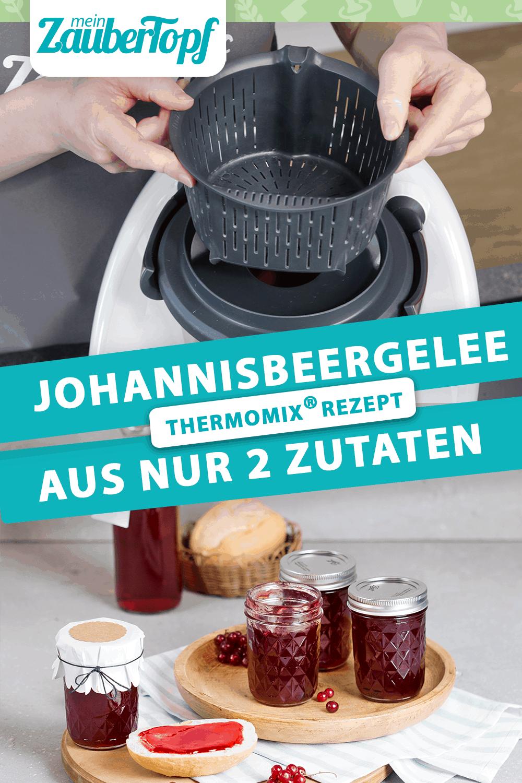 Johannisbeergelee mit dem Thermomix® – Foto: Anna Gieseler