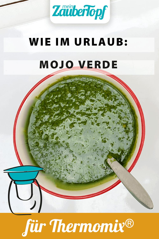 Mojo Verde mit dem Thermomix® –Foto: Nicole Stroschein