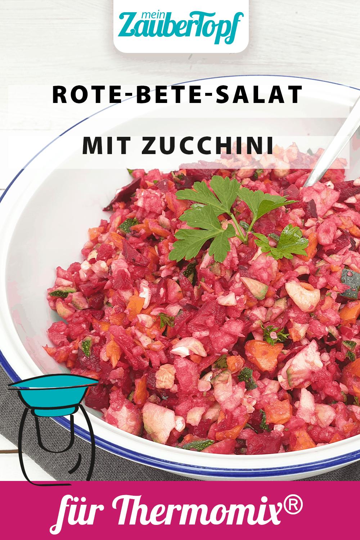 Rote-Bete-Salat mit Zucchini aus dem Thermomix® - Foto: Nicole Stroschein