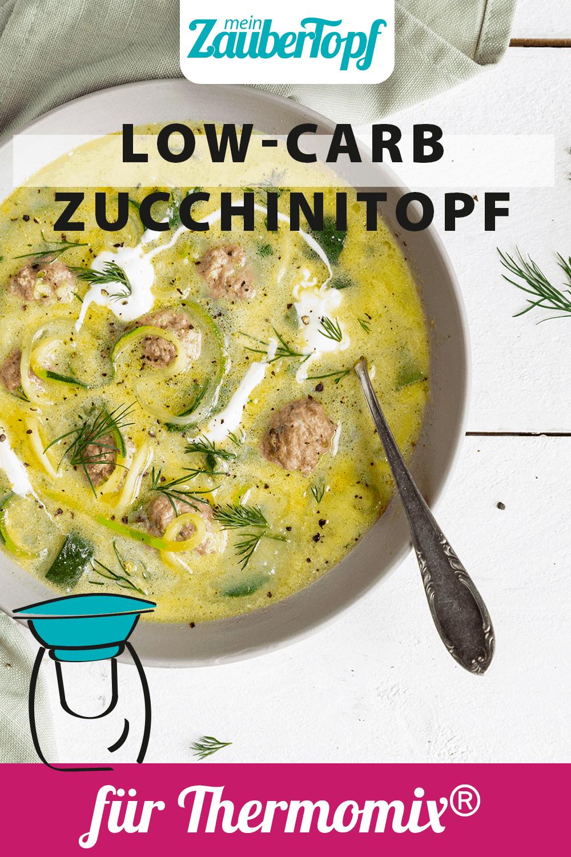 Low-Carb: Zucchini-Topf mit Hackbällchen mit dem Thermomix® – Foto: Kathrin Knoll