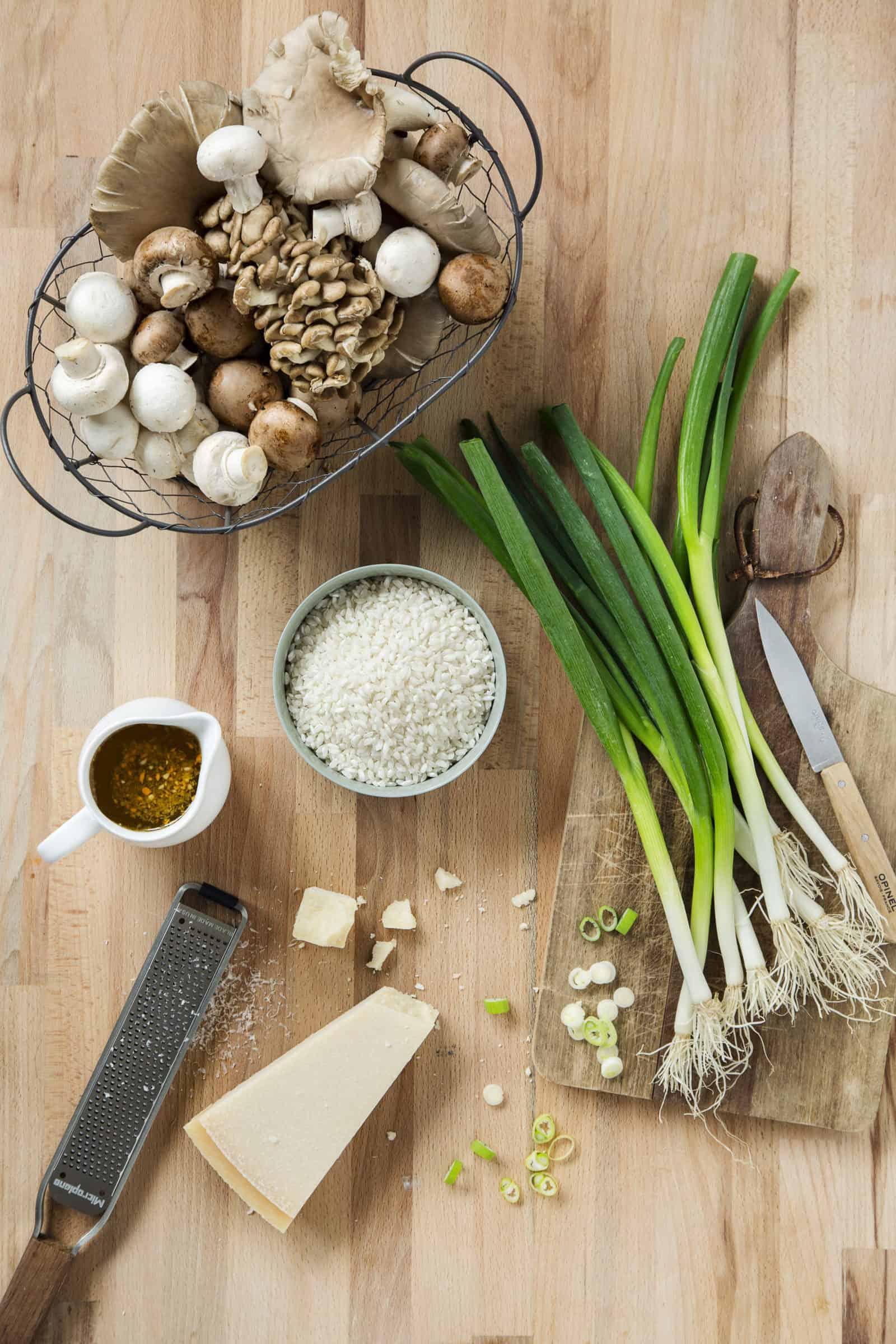 Pilzrisotto mit gebratenen Pilzen mit dem Thermomix® - Foto: Anna Gieseler