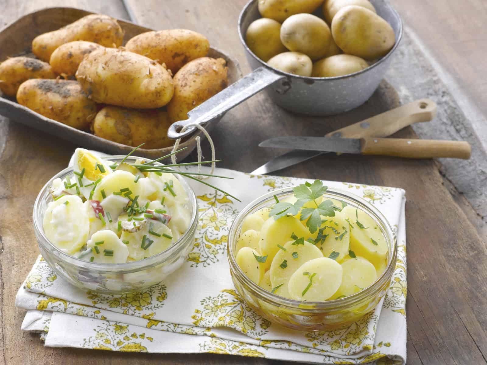 Schwäbischer Kartoffelsalat mit Essig und Öl –Foto: Frauke Antholz