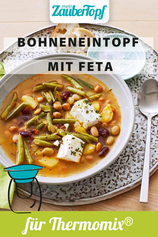 Bohneneintopf mit Feta aus dem Thermomix® - Foto: Jorma Gottwald