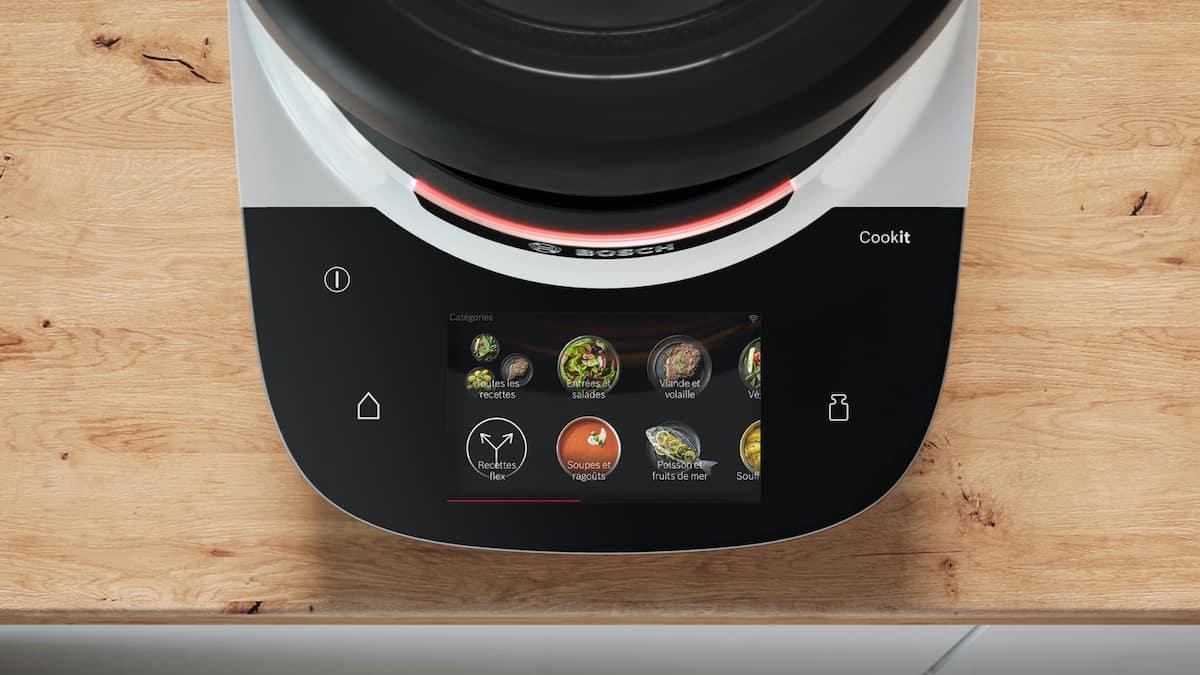 Bosch Cookit Funktionen, das Display