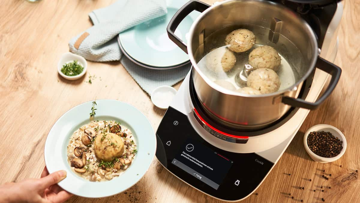 Bosch Cookit Funktionen. Guided Cooking