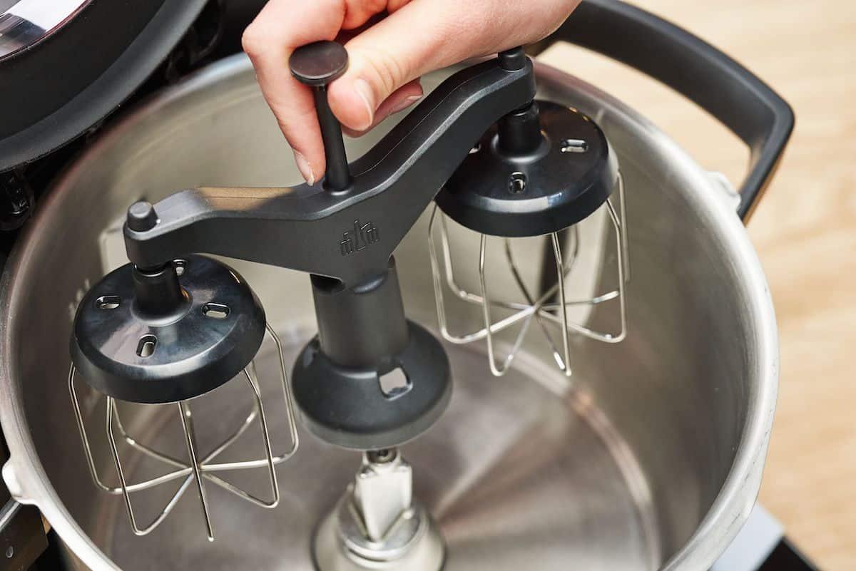 Cookit Werkzeuge, der Zwillingsrührbesen