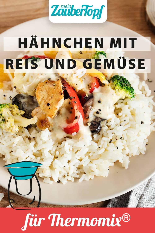 Hähnchen mit Reis und Gemüse mit dem Thermomix® - Foto: Anna Gieseler