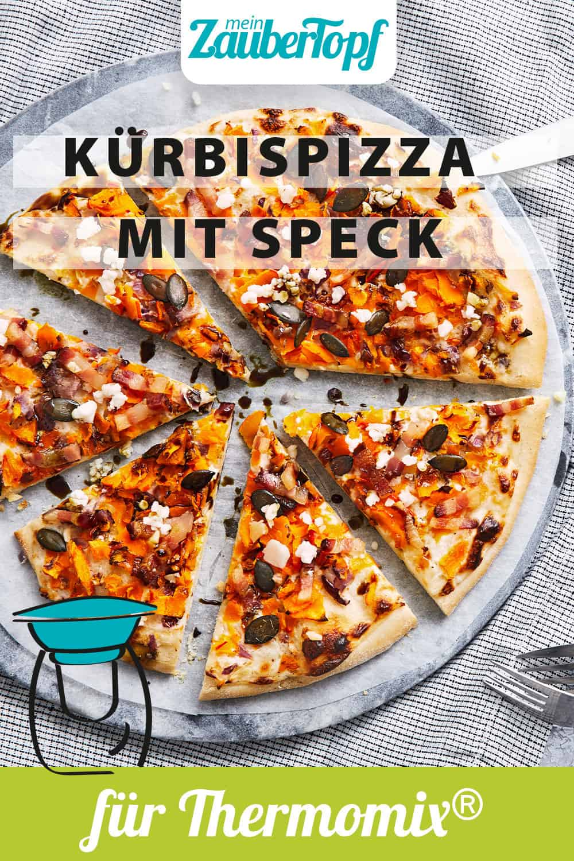 Kürbispizza mit Speck mit dem Thermomix® - Foto: Jorma Gottwald