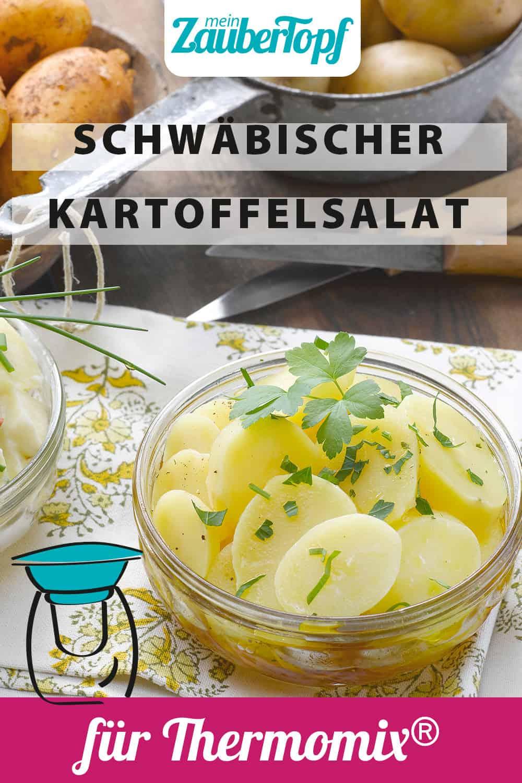 Schwäbischer Kartoffelsalat mit Essig und Öl aus dem Thermomix® - Foto: Frauke Antholz