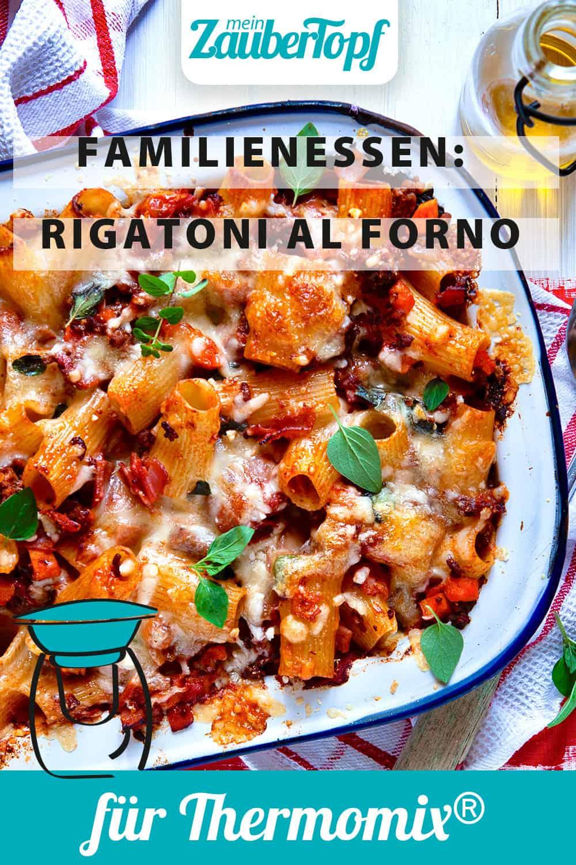 Rigatoni al Forno mit dem Thermomix® - Foto: Annamaria Zinnau