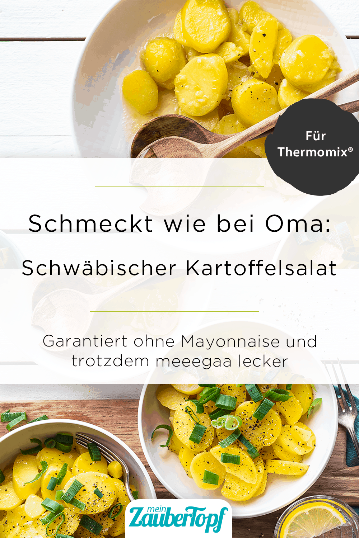 Schwäbischer Kartoffelsalat mit Essig und Öl aus dem Thermomix® – Foto: Anna Gieseler