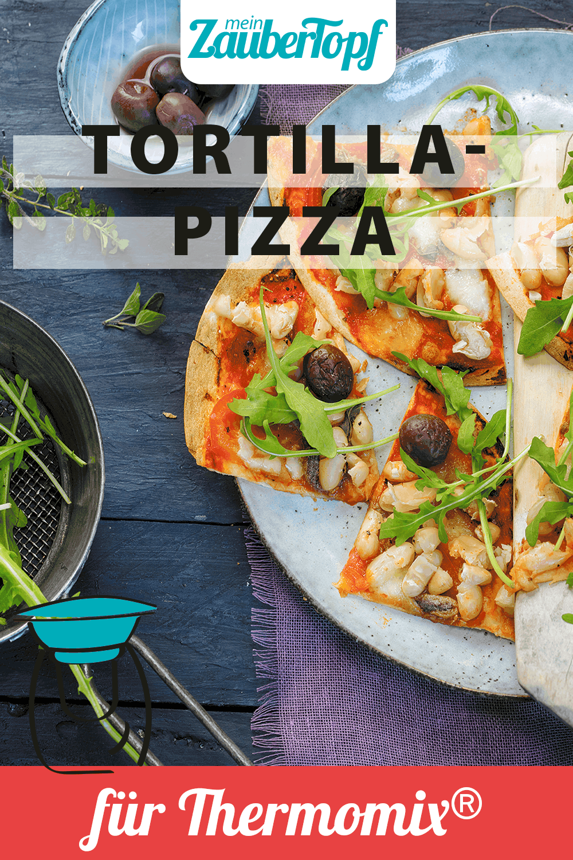 Tortilla-Pizza mit dem Thermomix® –Foto: Frauke Antholz
