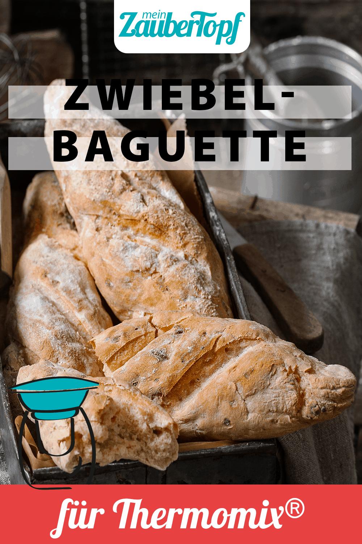 Zwiebelbaguette mit dem Thermomix® –Foto: Frauke Antholz