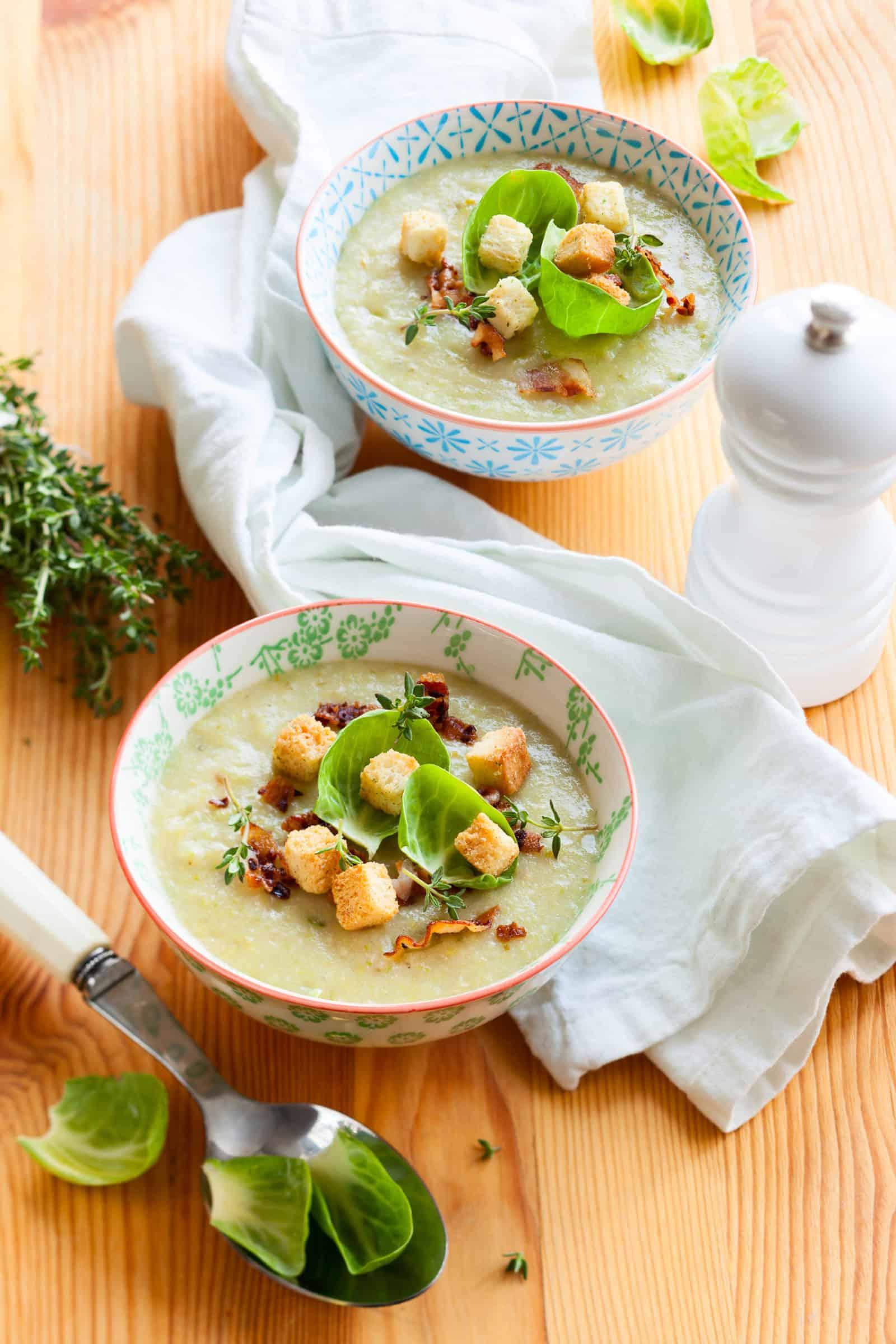 Cremige Rosenkohlsuppe aus dem Thermomix® - Foto: Shutterstock/Kolpakova Svetlana