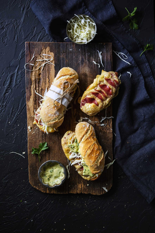 Salami-Käse-Croque mit dem Thermomix® –Foto: Anna Gieseler