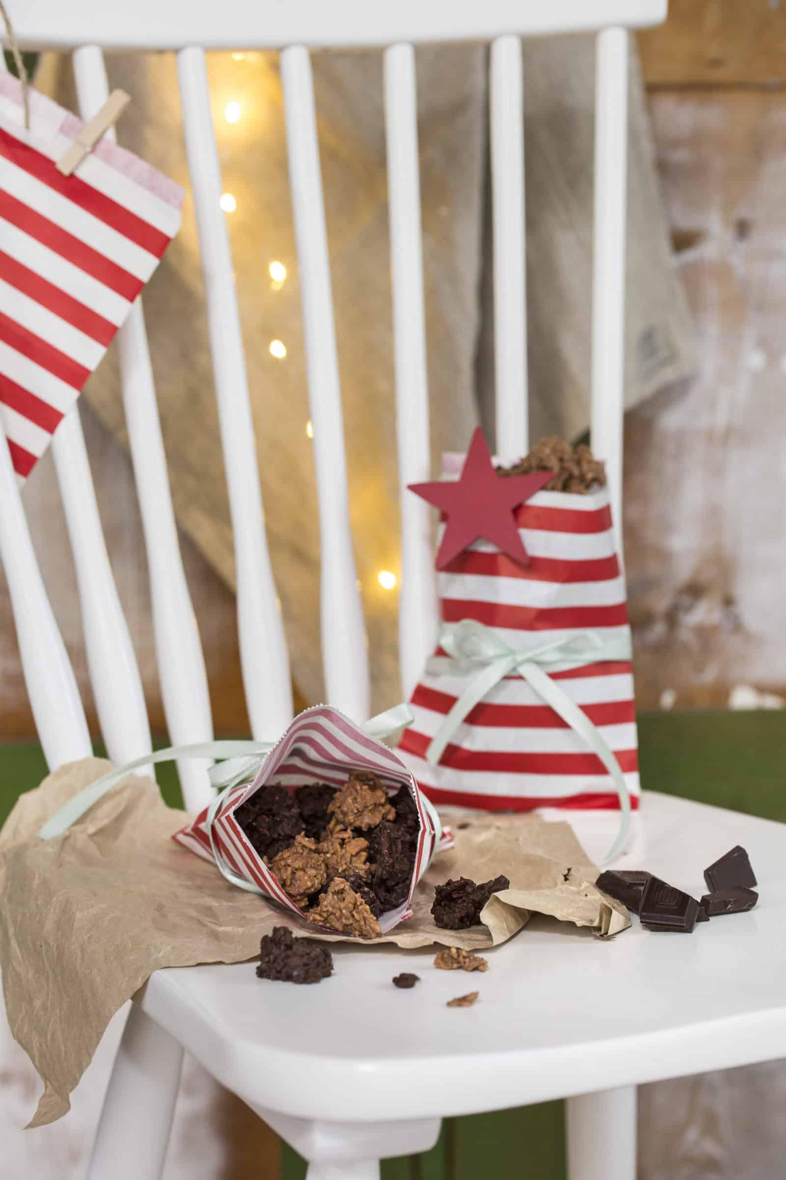 Schoko-Crossies mit zwei Sorten Schokolade aus dem Thermomix® - Foto: Kathrin Knoll