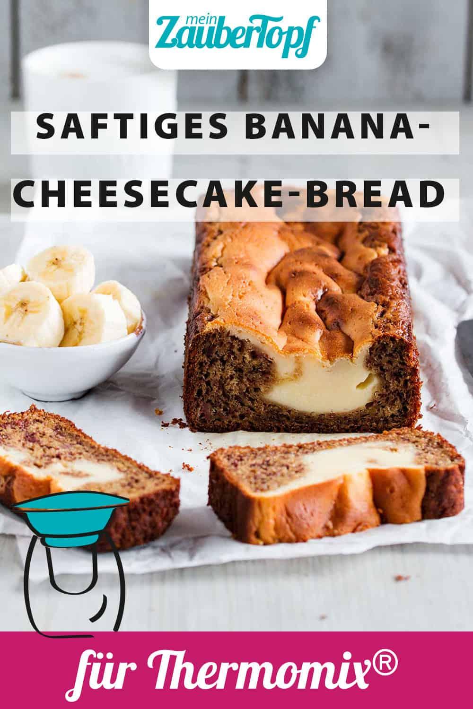 Banana-Cheesecake-Bread mit dem Thermomix® – Foto: Anna Gieseler