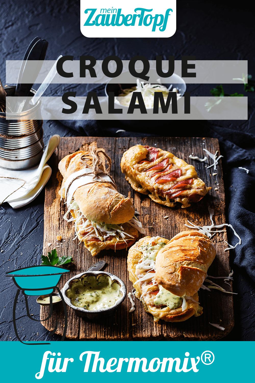 Salami-Croque mit dem Thermomix® –Foto: Anna Gieseler