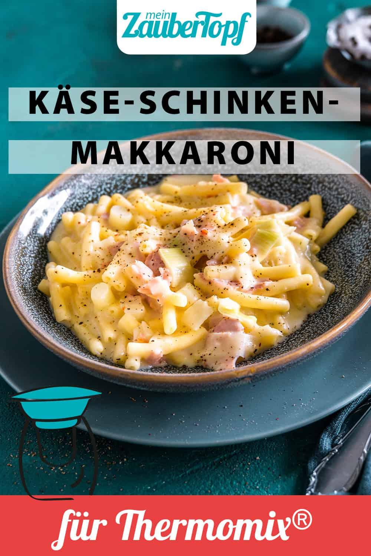 Käse-Schinken-Makkaroni mit Porree aus dem Thermomix® - Foto: Tina Bumann