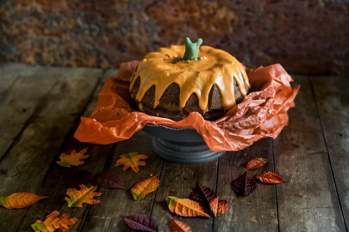 Kuchen-Kürbis mit dem Thermomix® – Foto: Tina Bumann