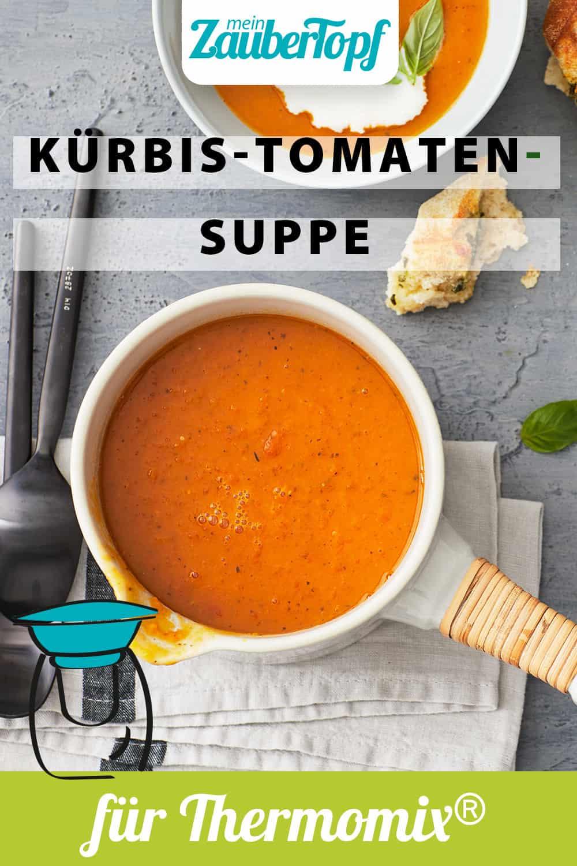 Kürbis-Tomaten-Suppe aus dem Thermomix® – Foto: Jorma Gottwald