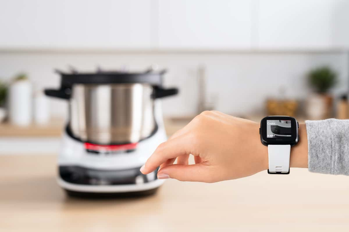 Bosch Cookit mit der FitBit
