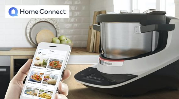 Die Home Connect App und der Bosch Cookit