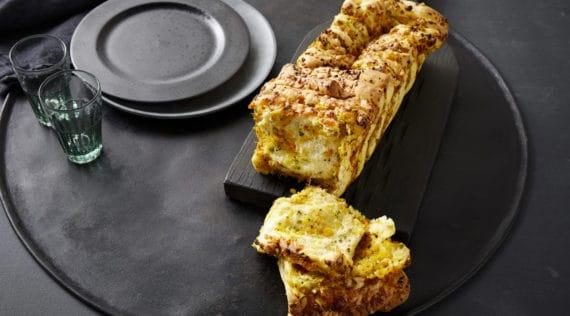 Zupfbrot mit Kürbis und Käse mit dem Thermomix® – Foto:Marie-Therese Cramer